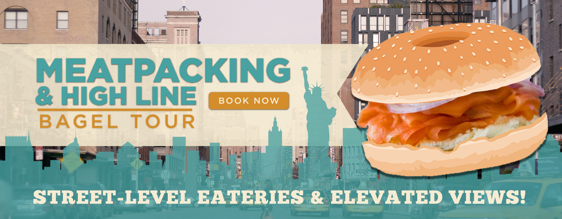 Bens Bagel Tour -Meat Packing&High Line