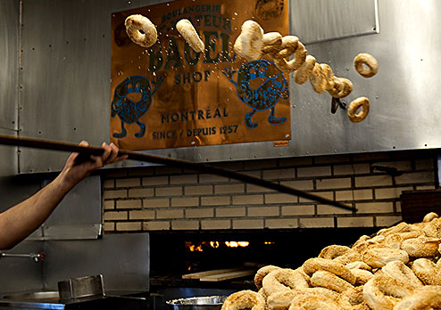 St Viateur Bagel Making Process
